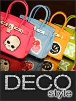 バッグやスマフォケースなど、大人のための素敵なデコグッズをお届けする『デコスタイル』